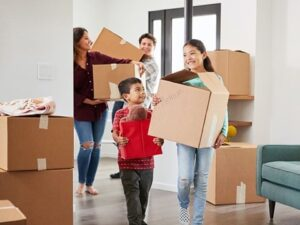 moving into new housing