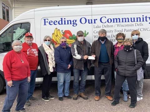 Dells Food Pantry Volunteers