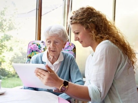 helping our elderly