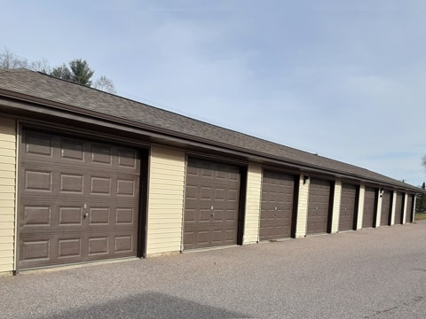 Holly Heights garages