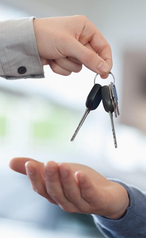 Handing the Car Keys